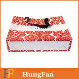Bolso de papel elegante del regalo de las compras/bolso de empaquetado del papel con la maneta de la cuerda