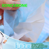 N95 3ply Disposable Nonwoven Flat Face Mask con Tie sopra