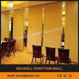 Desplazamiento de las paredes de partición para el restaurante/el hotel/la sala de conferencias
