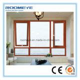 Ventana de aluminio de la rotura termal del toldo del marco de Roomeye (RMAW-10)