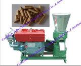 平らな中国の飼料は造粒機機械を作る木製の餌を停止する