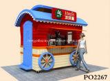 De Kiosk van het Voedsel van de Popcorn van het Ontwerp van de Kiosk van het Voedsel van de Suikermaïs van de douane voor Verkoop