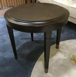 現代木の側面のコーヒーテーブル
