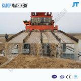 150 Baggermachine van de Zuiging van de Baggermachine van de Goudwinning van de ton de Gouden