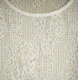 Le plus défunt T-shirt sexy à la mode d'été de lacet de glands