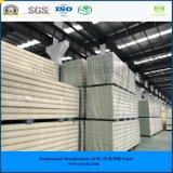 ISO, SGS одобрил панель сандвича Pur ~ 50mm 250mm гальванизированную стальную для замораживателя холодной комнаты холодной комнаты