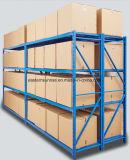 Estante de acero del almacenaje de la visualización resistente de las mercancías secas del almacén