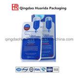2016 dichtende Plastiktasche-Kosmetik-verpackenbeutel für Gesichtsschablonen-Aluminiumfolie-Beutel mit guter Qualität