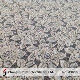Tissu épais de lacet de fleur de coton pour le vêtement (M3090)