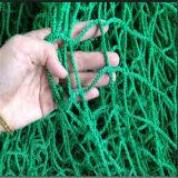 Rete di sicurezza priva di nodi della rete di carico del reticolato