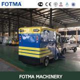 Machine rapide de route d'ordures de rue automatique électrique d'acide de plomb à quatre roues du coffre 240L