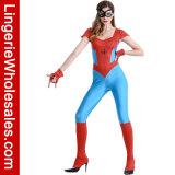 Het Kostuum van Spidergirl Bustier van het Wonder van sexy Vrouwen