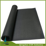 Negro de 8 mm Thockness Rubber Flooring rollo para Gym
