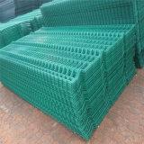 Galvanized/PVCのくねりが付いている上塗を施してある金網の塀