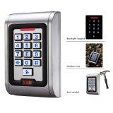 Portello del metallo IP68 della serratura della tastiera del portello della tastiera del portello del garage di controllo di accesso singolo della tastiera impermeabile della cassa RFID 125kHz autonomo con 2000 utenti per esterno e dell'interno