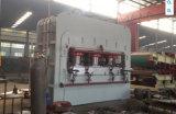 Machine chaude de côtés de double de presse de laminage court automatique de cycle