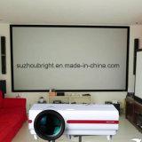 Grand écran de projecteur d'écran de projection fixé au mur