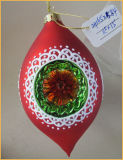 Корабли прованского форменный рождества стеклянные для украшения вала