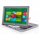 """11.6 """" 자전 접촉 스크린 Windows10 휴대용 퍼스널 컴퓨터 인텔 Celeron1037u (P116B)"""