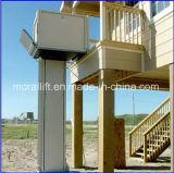 Elevatore di sedia a rotelle domestico sicuro per l'uomo anziano