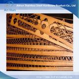 Lamiera di acciaio tagliata laser per la decorazione esterna