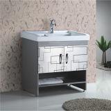 Vanità fissa classica della stanza da bagno dell'acciaio inossidabile