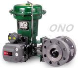 Valvola di regolazione di gestione elettrica ad alta pressione con la flangia
