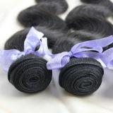человеческие волосы Remy девственницы естественных бразильских волос 7A сотка