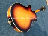 두꺼운 반 빈 바디 재즈 335 3개의 픽업 Bigsby 기타를 묶는 325 L5 셀룰로이드