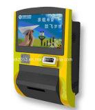 A máquina do ATM desconta dentro e para fora com o varredor de código de Qr