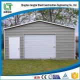 Estrutura portátil de aço para a garagem