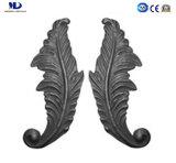 穏やかな鋼鉄Ornamentalは錬鉄のやりヘッドを分ける