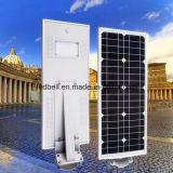 Hotselling tout dans un réverbère solaire dans les pays européens