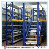 頑丈な鋼板ラック、倉庫のラッキングは倉庫の中二階およびプラットホームを分ける
