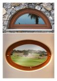 Solid Oak Teak Larch Pine Wood From中国Supplier Designの新しいDesign Aluminum Round Window