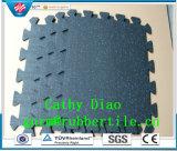 中国の工場供給の連結の体操の床、スポーツのゴム製床、体操の床のマットのAnti-Fatigueフロアーリングのマット