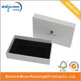 Caja de regalo brillante blanca de gama alta con los partes movibles (A Z121923)