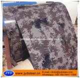 Acero prepintado modelo Coil/PPGI del camuflaje