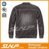 Куртка джинсовой ткани отдыха втулки хлопка людей длинняя