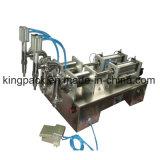 Dos semi máquina de rellenar líquida principal automáticos