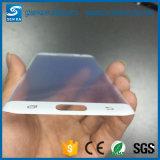 독점적인 나노미터 실크 인쇄 Samsung 은하 S7 가장자리를 위한 반대로 파란 가벼운 유리 스크린 프로텍터