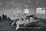 [ليا] ضلع 520 [سمي-ريجد] هيكل [فيبرغلسّ] قابل للنفخ زورق الصين صاحب مصنع