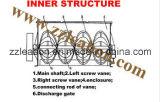 容易な操作の二軸の刃のタイプ効率的な混合機械