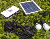 LED solare Lighting Kits System con il LED 1W 2W 3W Fixed Optional