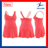 Camisola do Netball da impressão do Tingir-Sublimation de Healong
