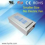 Bloc d'alimentation antipluie du transformateur continuel DEL de la tension IP23 150W 24V DEL de Hyrite pour le Signage annonçant la lumière avec du ce, ccc
