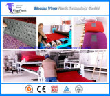 プラスチックPVCコイル・カーのマットの放出の機械装置の製造業の工場