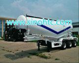 60m3 цемент Bulker/навальный цемента топливозаправщика трейлер тележки Semi