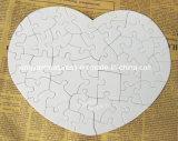 De Puzzel van het Document van de Parel van de Vorm van het hart