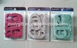 Adhesiva del brillo del alfabeto / troqueladas Glitter cartas de papel decorativo adorno